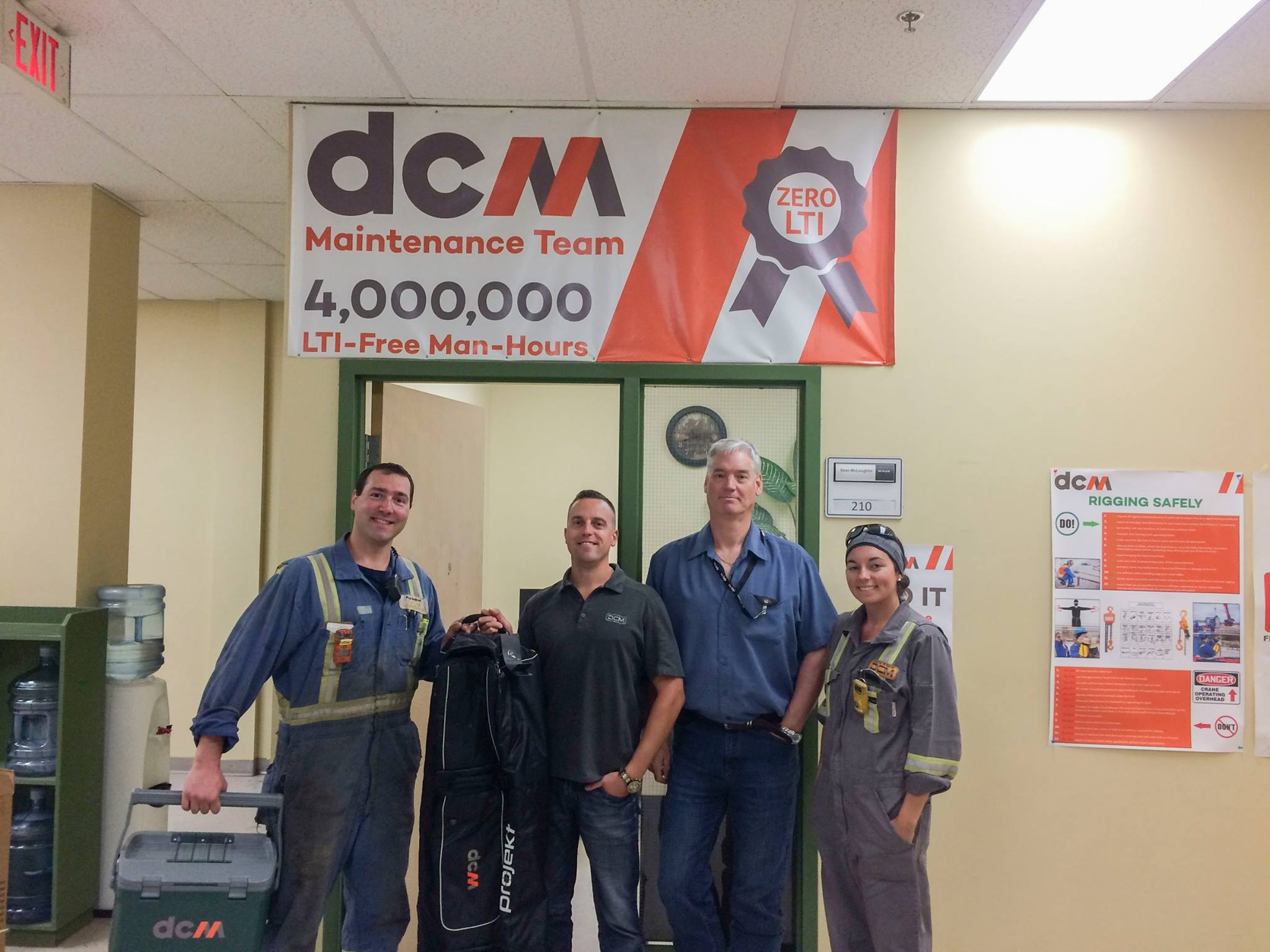 DCM employee saves colleague's life!