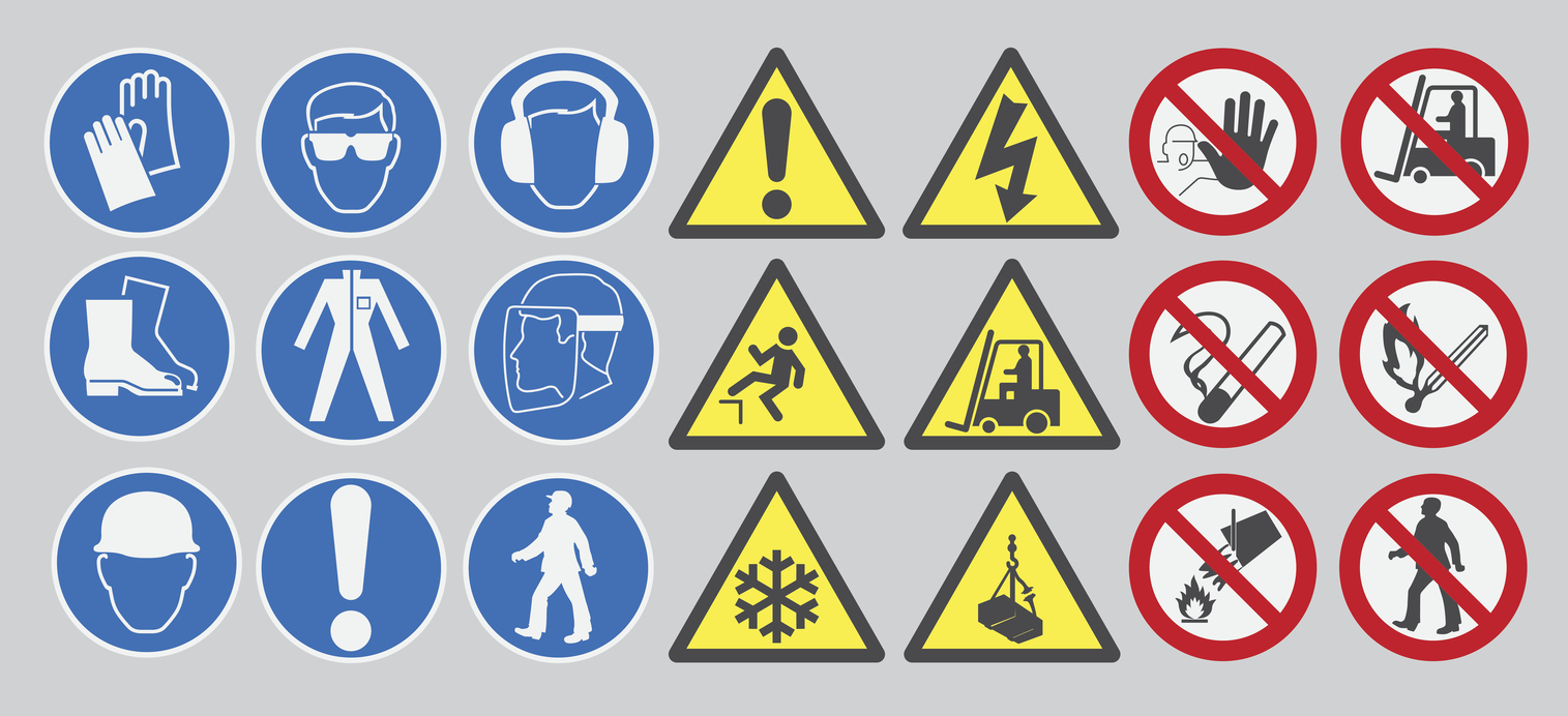 Safety Symbols and Their Meanings - Industrial Construction