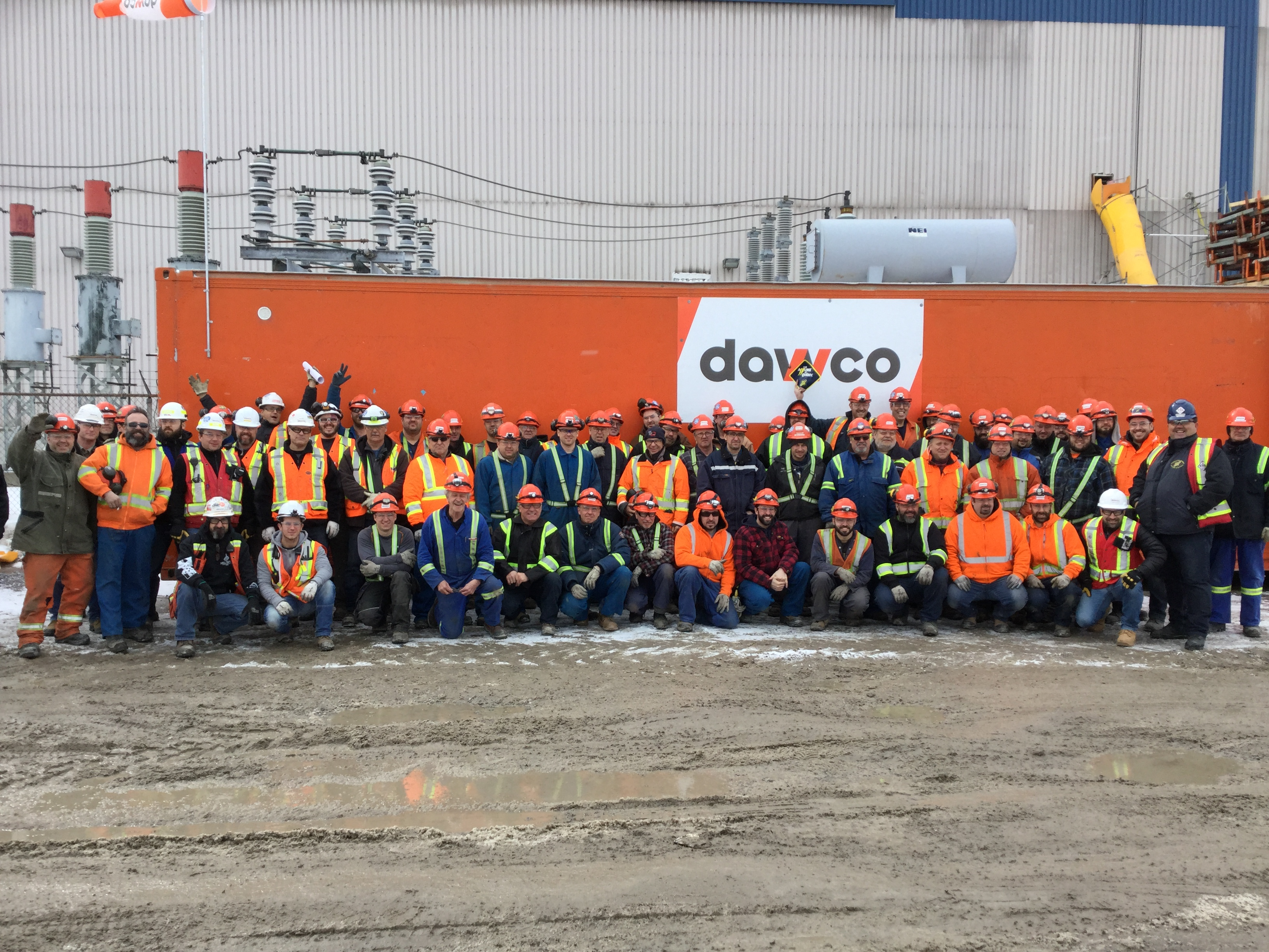 Instrumentation and electrical mandate for DAWCO