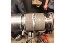 Hydrogen Reformer Welding