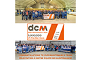 The DCM Maintenance team celebrates a major achievement