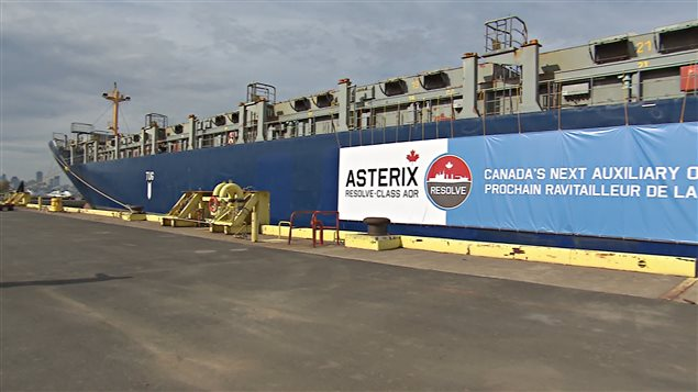 Project wrap-up underway aboard the Asterix
