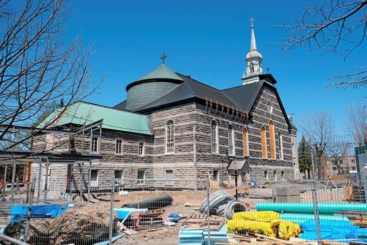 The transformation of Église Notre-Dame into Pavillion Notre-Dame of the Cégep de Granby